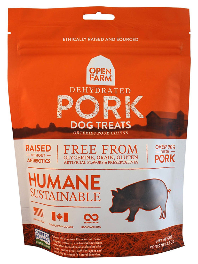 OPEN FARM DEHYDRATED PORK 4.5OZ