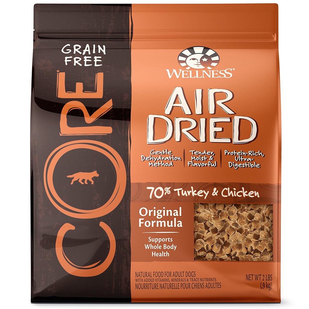 WELLNESS DOG CORE AIR DRIED TURKEY & CHICKEN 2LBS