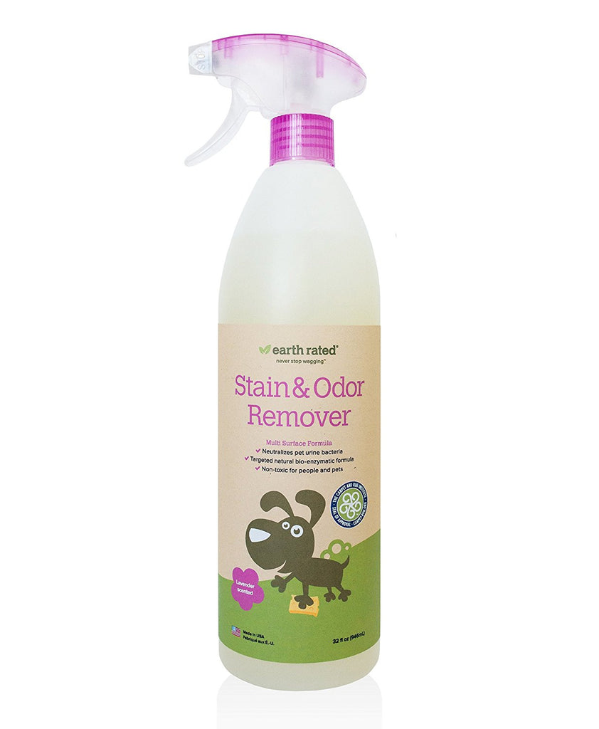 EARTH RATED STAIN & ODOR REMOVER SCENTED SPRAY 32OZ