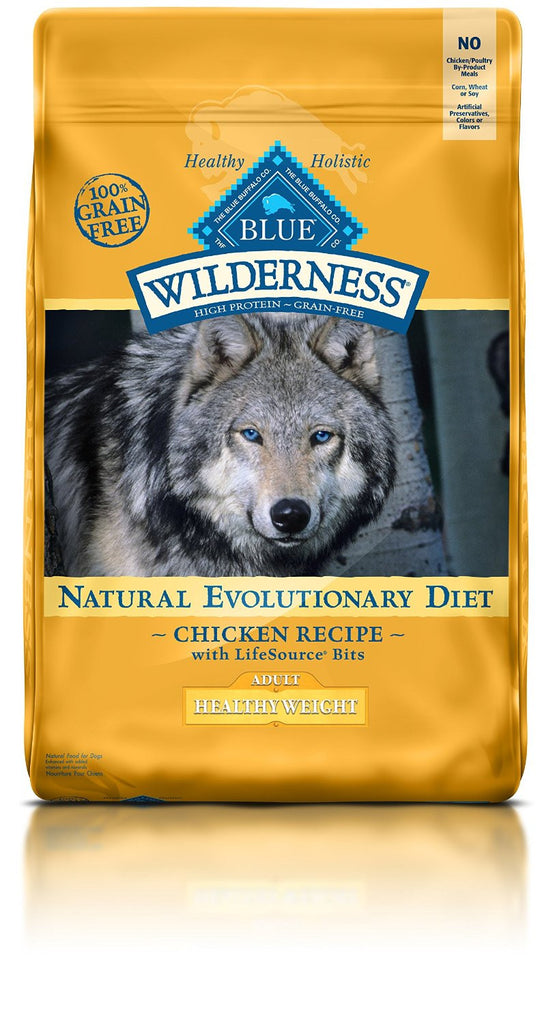 BLUE BUFFALO DOG WILDERNESS HEALTHY WEIGHT CHICKEN 24LBS