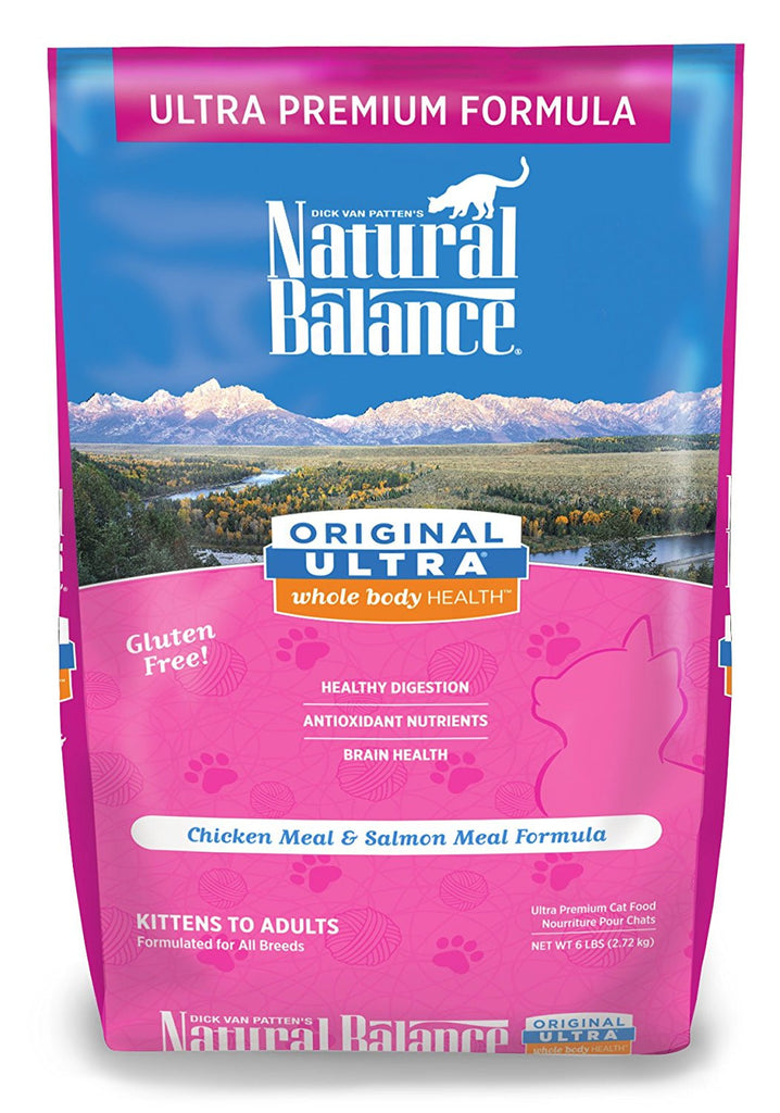 NATURAL BALANCE CAT ULTRA PREMIUM FORMULA 6LBS