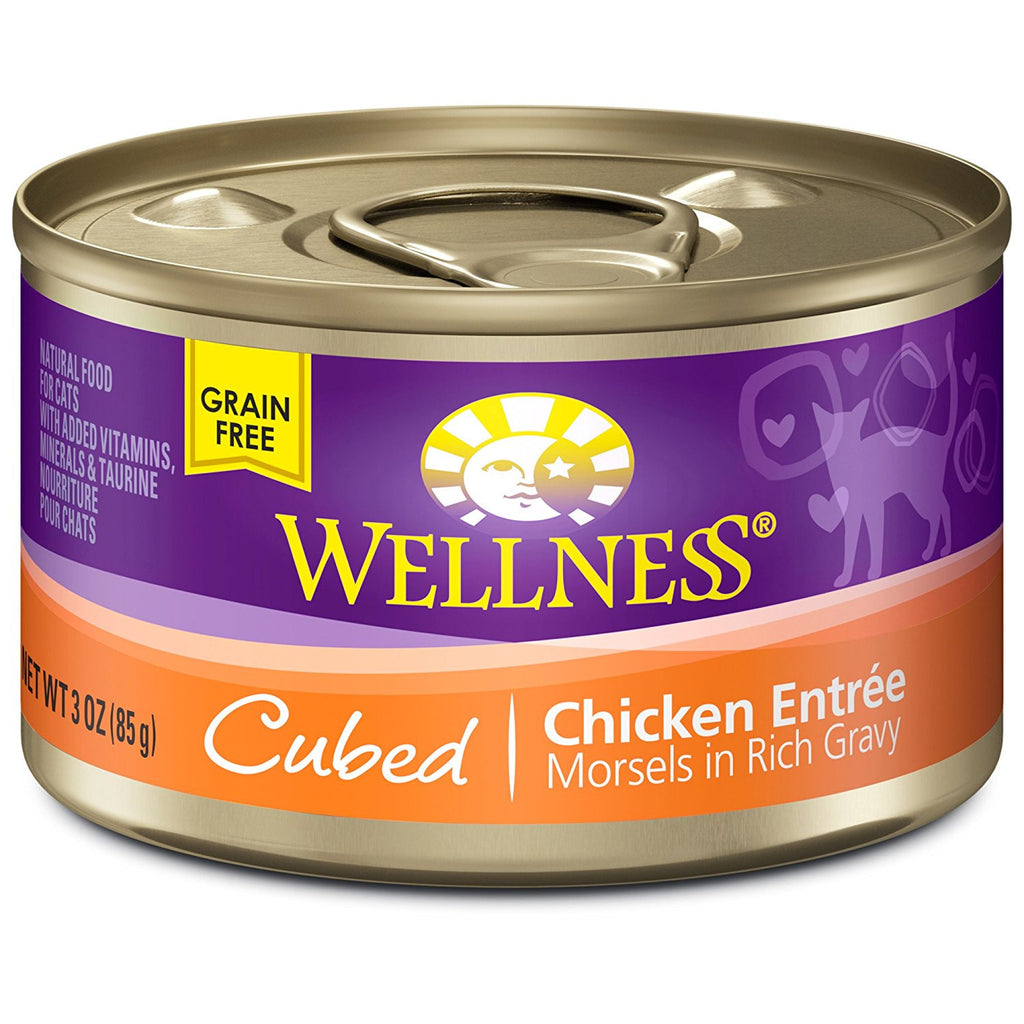 WELLNESS CAT COMPLETE HEALTH MORSELS CHICKEN 3OZ