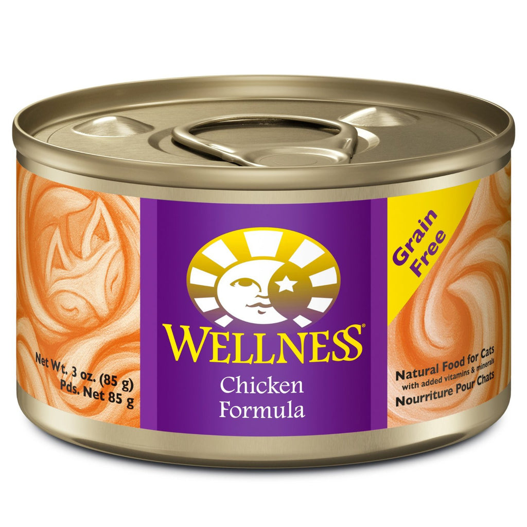 WELLNESS CAT COMPLETE HEALTH PATE CHICKEN 3OZ