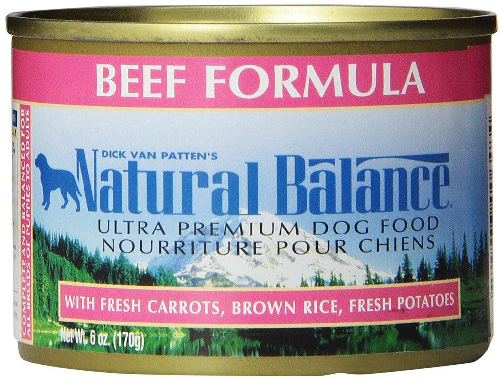 NATURAL BALANCE DOG BEEF FORMULA 6OZ