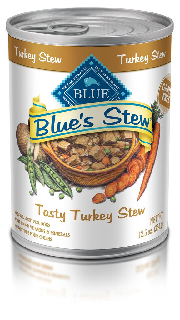 BLUE BUFFALO DOG TASTY TURKEY STEW 12.5OZ