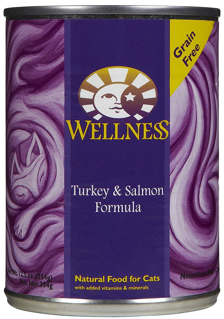 WELLNESS CAT TURKEY & SALMON 12.5OZ