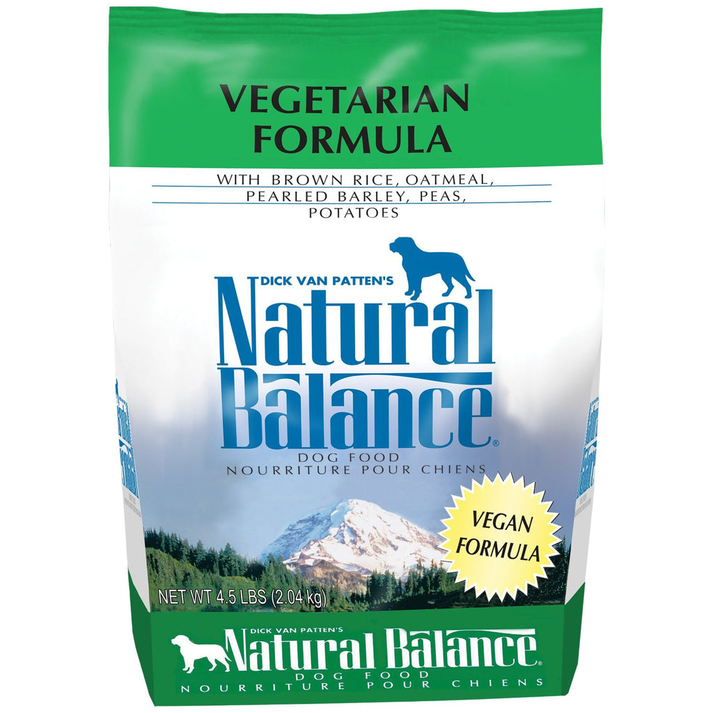 NATURAL BALANCE DOG VEGETARIAN FORMULA 4.5LBS