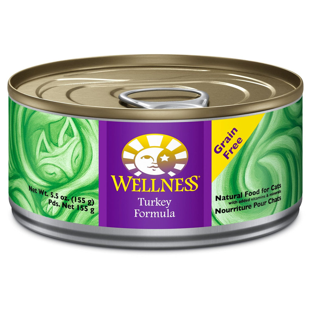 WELLNESS CAT COMPLETE HEALTH PATE TURKEY 5.5OZ