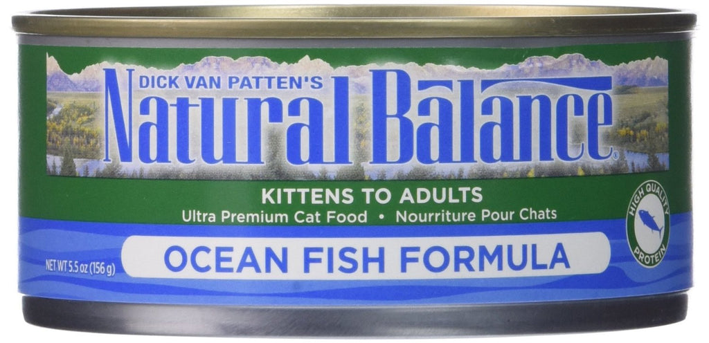 NATURAL BALANCE CAT OCEAN FISH FORMULA 5.5OZ