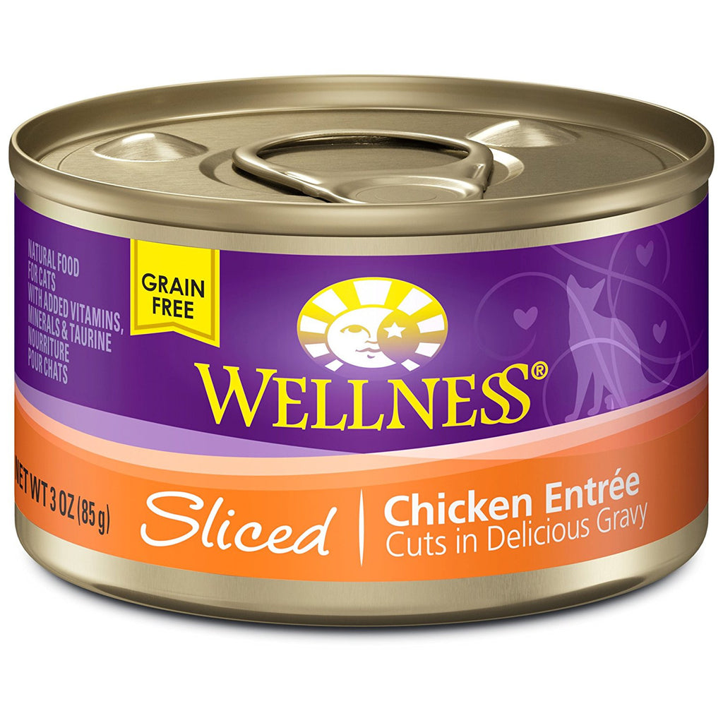 WELLCATSLICEDCHICKEN3OZ
