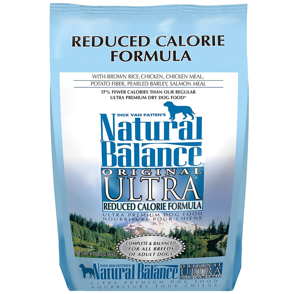 NATURAL BALANCE DOG REDUCED CALORIE 4.5LBS