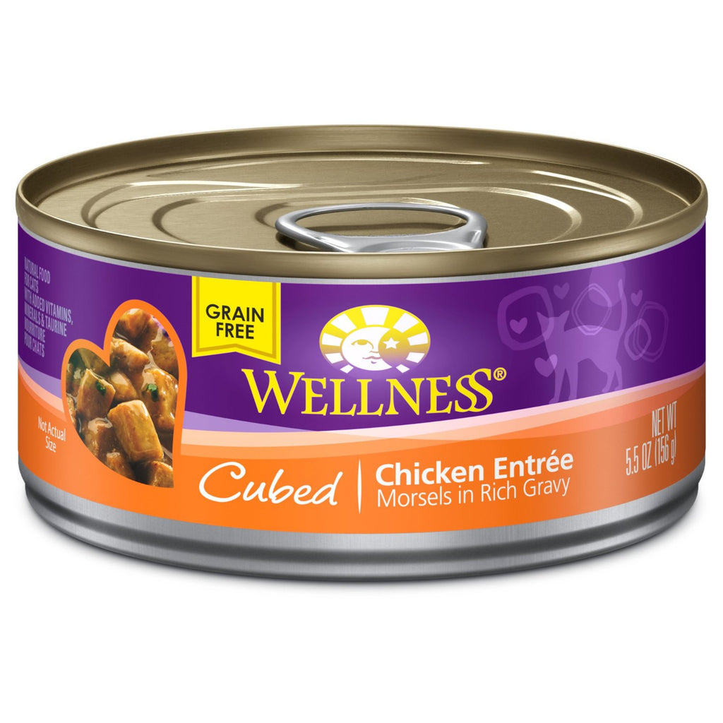 WELLNESS CAT COMPLETE HEALTH MORSELS CHICKEN 5.5OZ