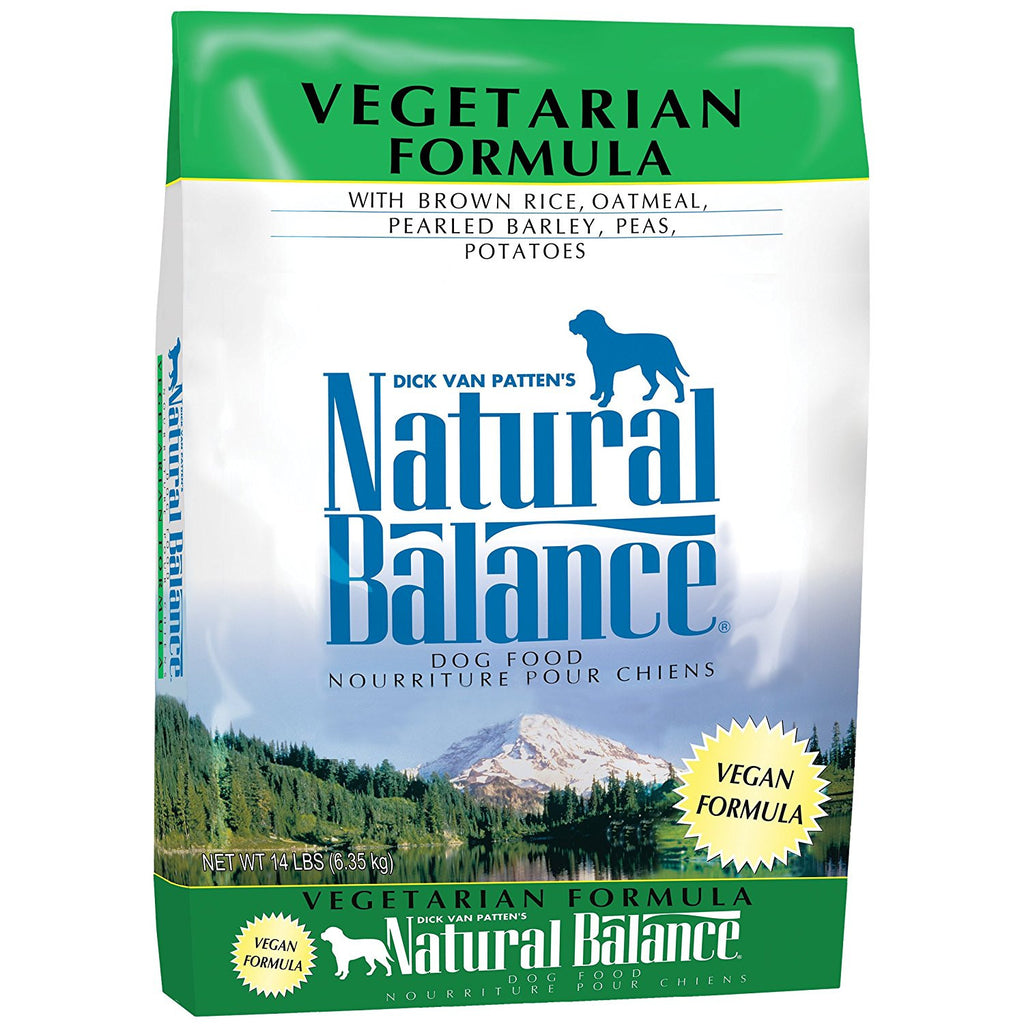 NATURAL BALANCE DOG VEGETARIAN FORMULA 14LBS