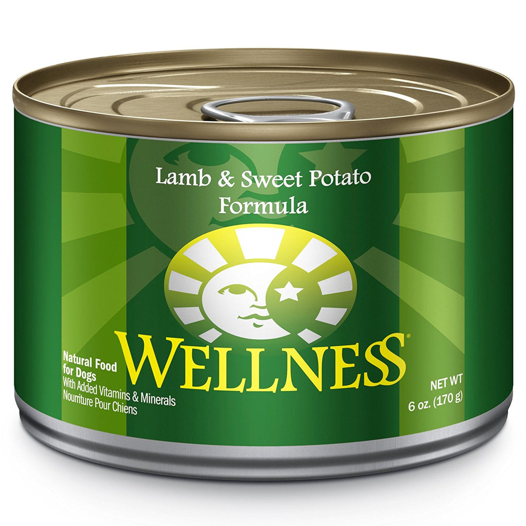WELLNESS DOG LAMB & SWEET POTATO 6OZ