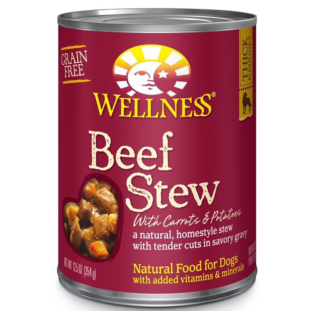 WELLNESS DOG BEEF STEW WITH CARROTS & POTATOES 12.5OZ