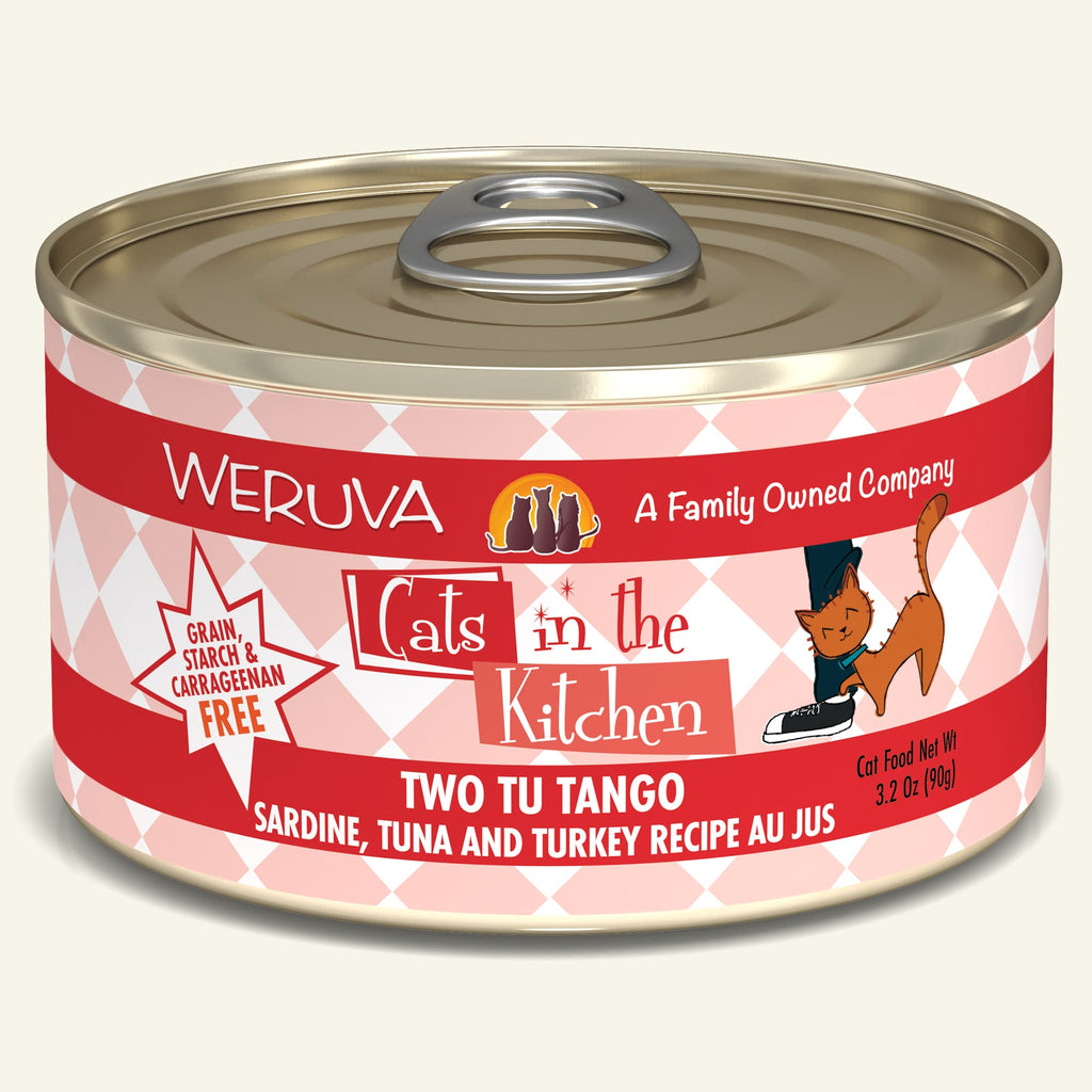 Weruva Cats in the Kitchen Two Tu Tango, 3.2oz Cat Food