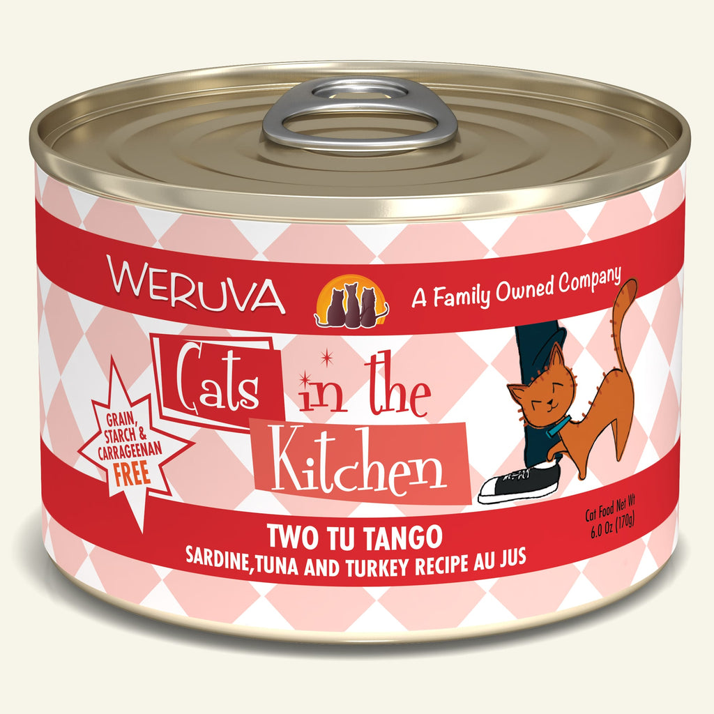 Weruva Cats in the Kitchen Two Tu Tango, 6oz Cat Food