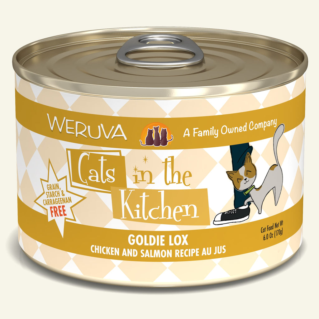 Weruva Cats in the Kitchen Goldie Lox, 6oz Cat Food