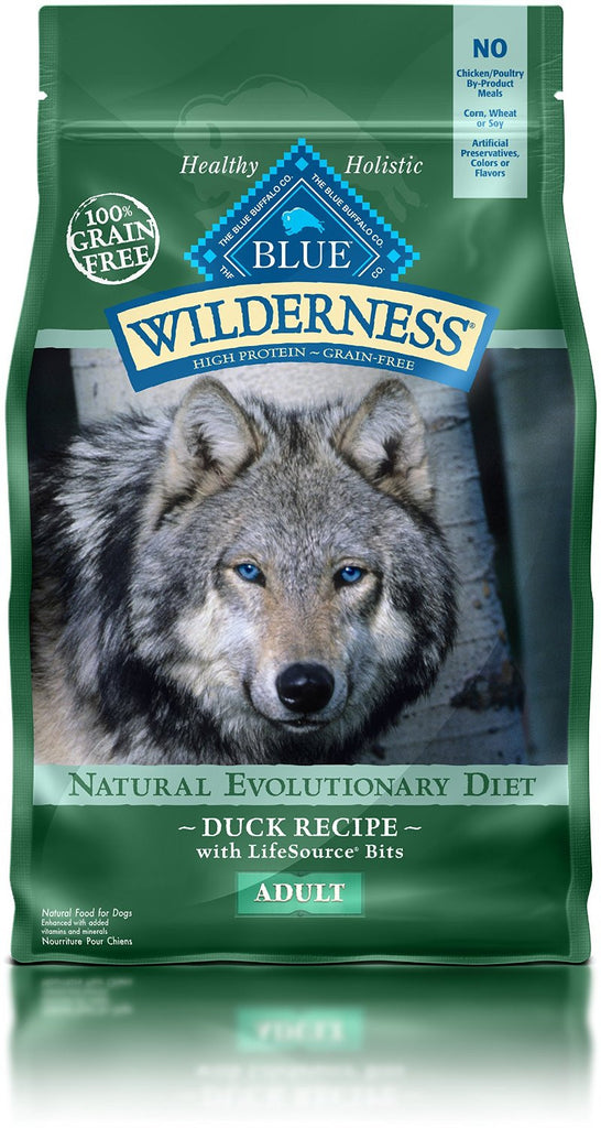 BLUE BUFFALO DOG WILDERNESS DUCK 4.5LBS