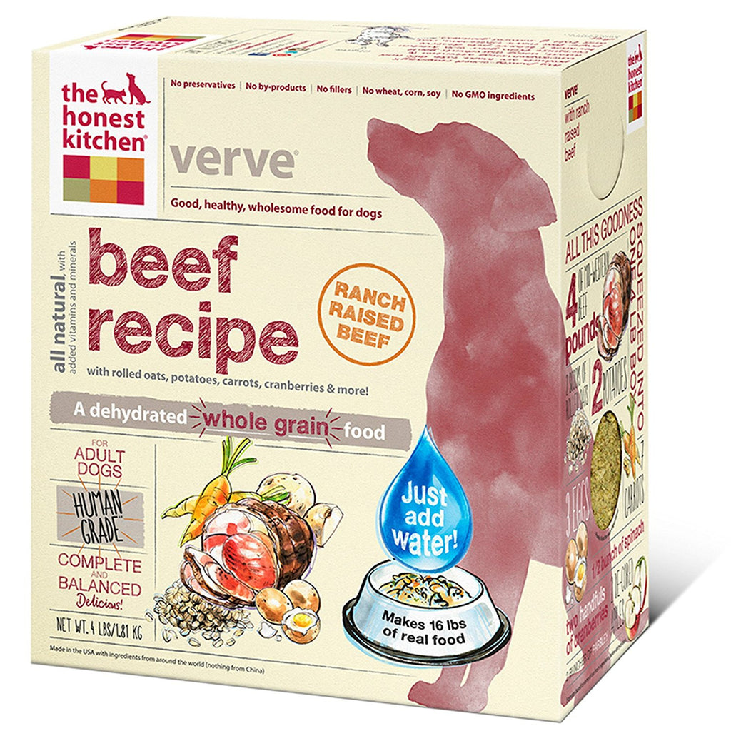 THE HONEST KITCHEN VERVE BEEF 4LBS