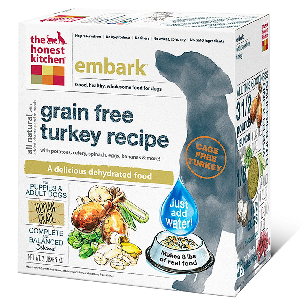 THE HONEST KITCHEN EMBARK TURKEY 2LBS