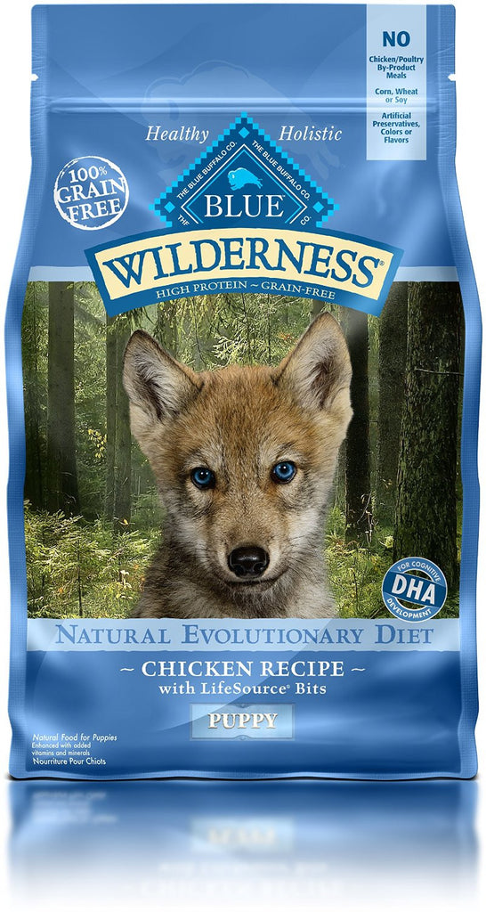 BLUE BUFFALO PUPPY WILDERNESS CHICKEN 4.5LBS