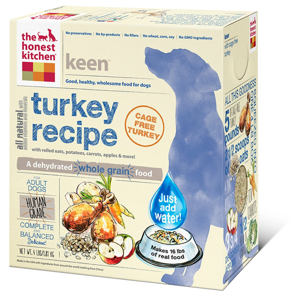 THE HONEST KITCHEN KEEN TURKEY 4LBS