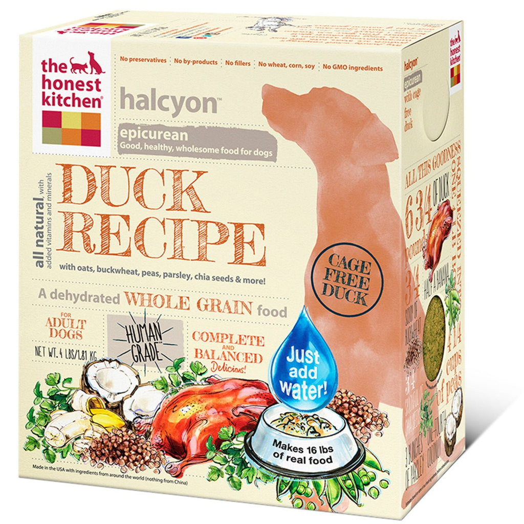 THE HONEST KITCHEN HALCYON DUCK 4LBS