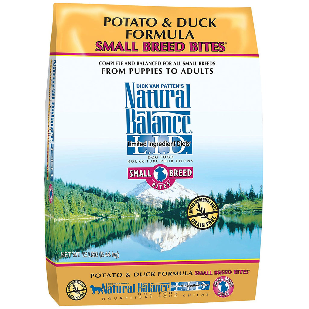 NATURAL BALANCE DOG LIMITED INGREDIENT DIET DUCK & POTATO SMALL BREED 12LBS