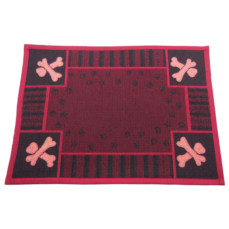 ARLEE BOWL MAT A DOGS DAY 13X18