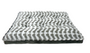 ARLEE ROVER BELLA MATTRESS ZIGZAG BONE CHARCOAL BED 40X30