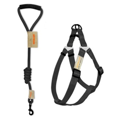 BEST PET VOYAGER HARNESS LEAD SET BLACK SMALL