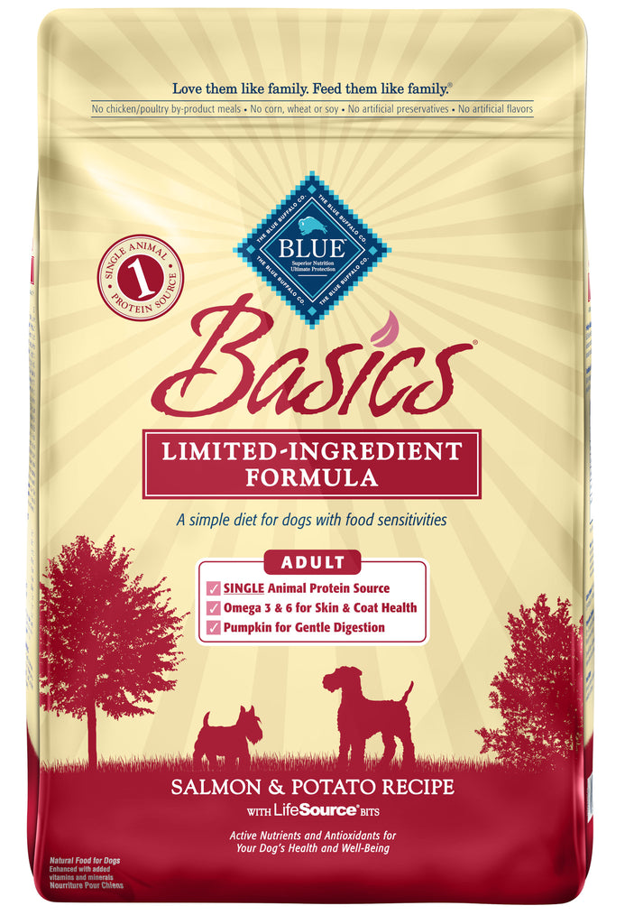 BLUE BUFFALO DOG BASICS SALMON 11LBS