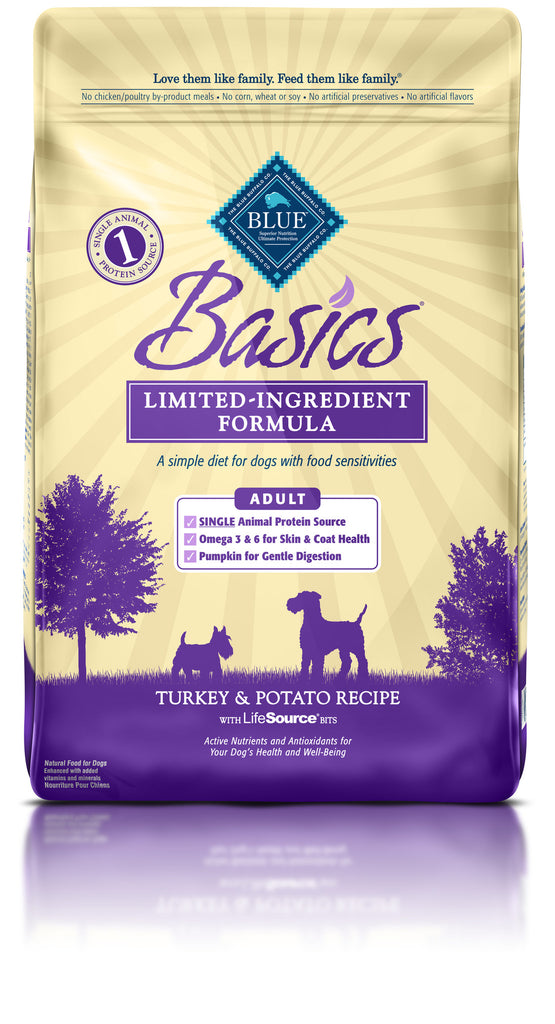 BLUE BUFFALO DOG BASICS TURKEY 11LBS