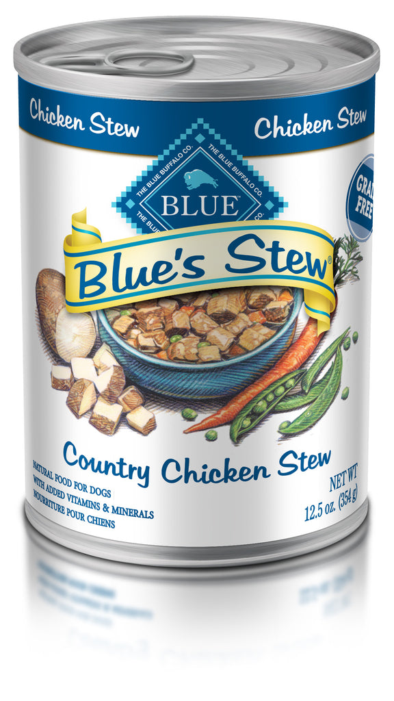 BLUE BUFFALO DOG COUNTRY CHICKEN STEW 12.5OZ