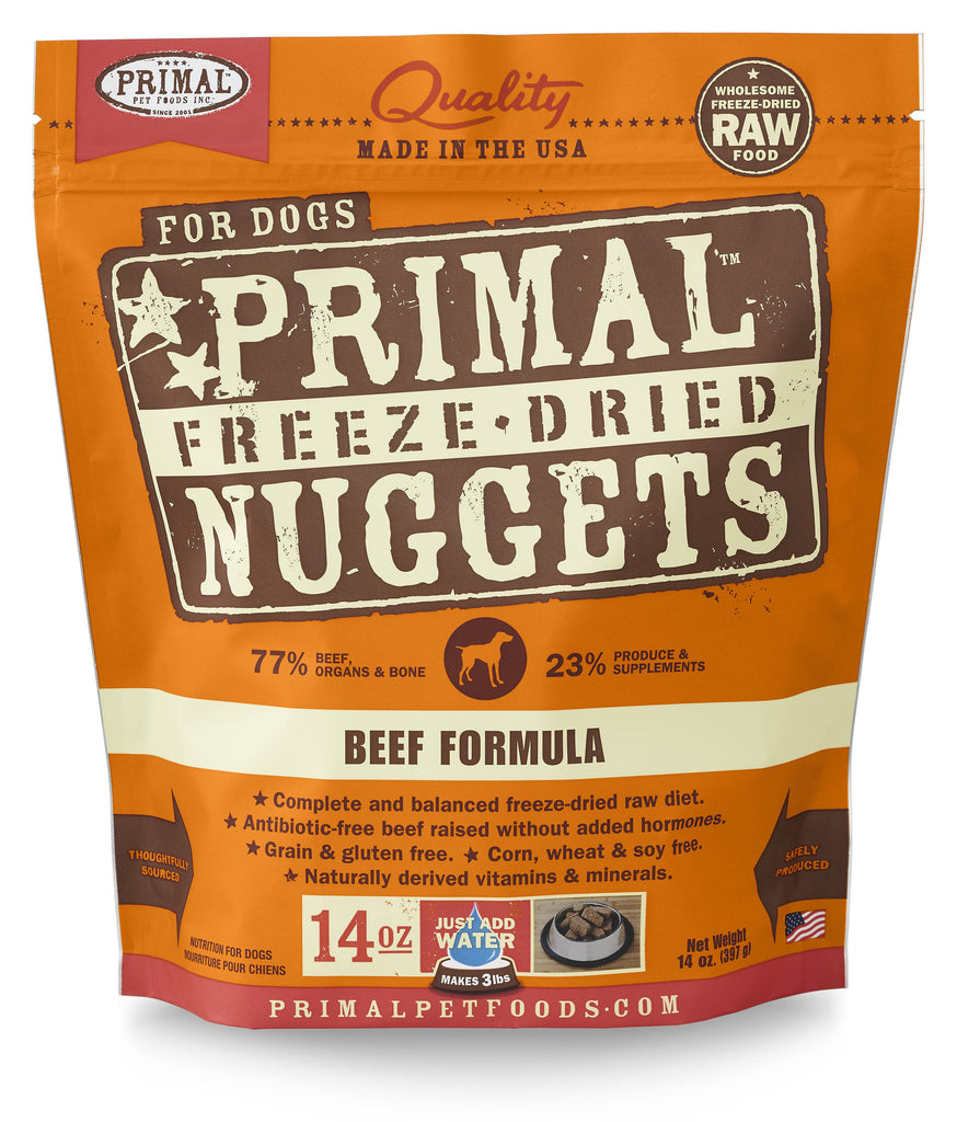 PRIMAL DOG DRIED BEEF 14OZ