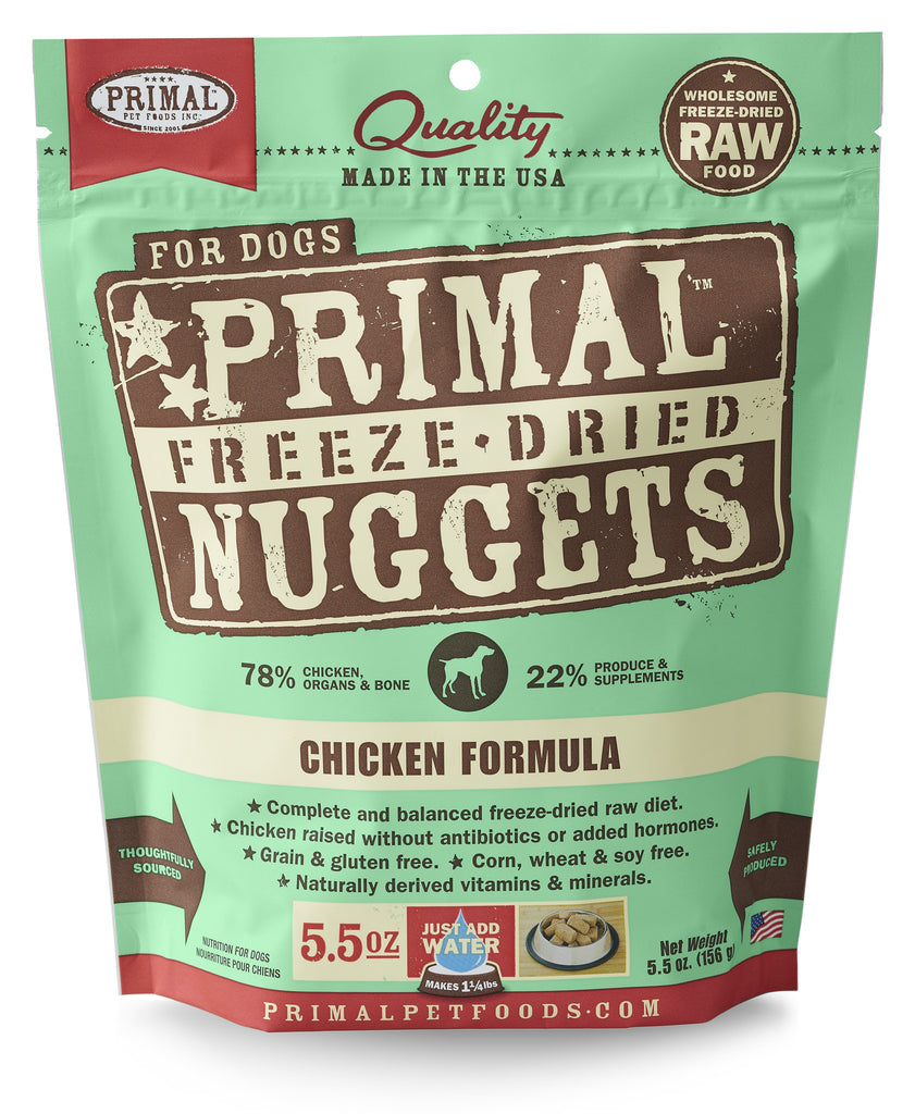 PRIMAL DOG DRIED CHICKEN 5.5OZ