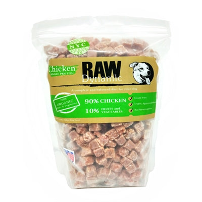 RAW DYNAMIC FROZEN CHICKEN 6LBS FOR DOGS