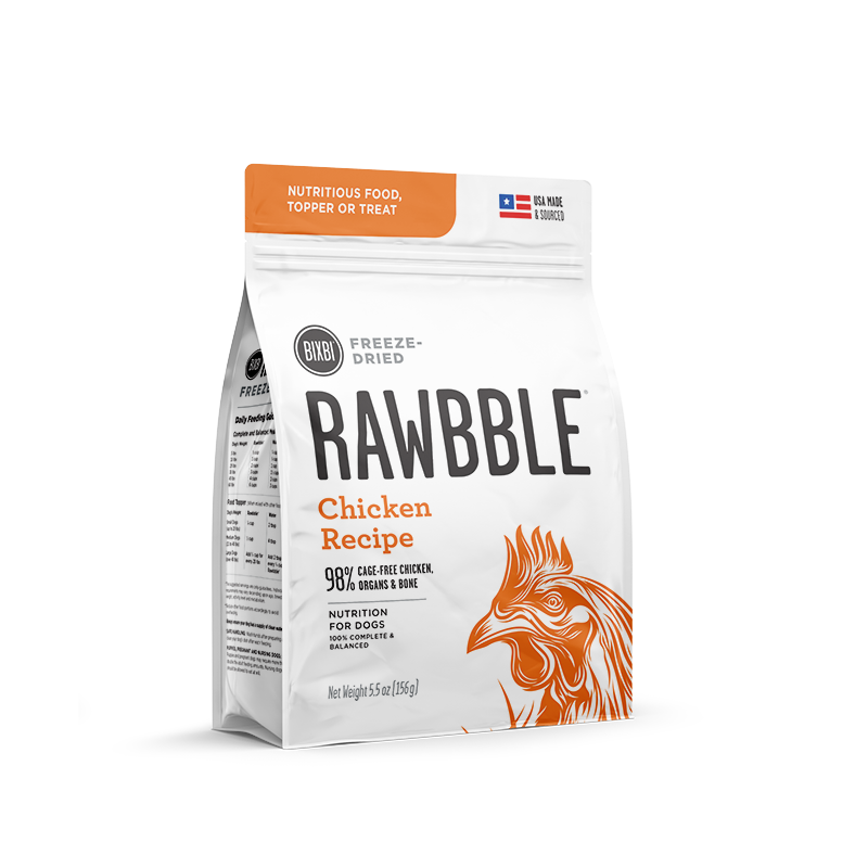 BIXBI RAWBBLE DOG DRIED CHICKEN 5.5OZ