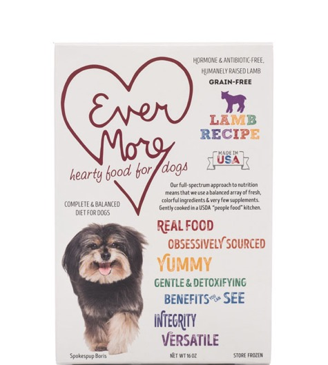EVERMORE DOG LAMB RECIPE 16OZ