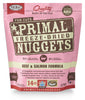 PRIMAL CAT DRIED BEEF&SALMON 14OZ