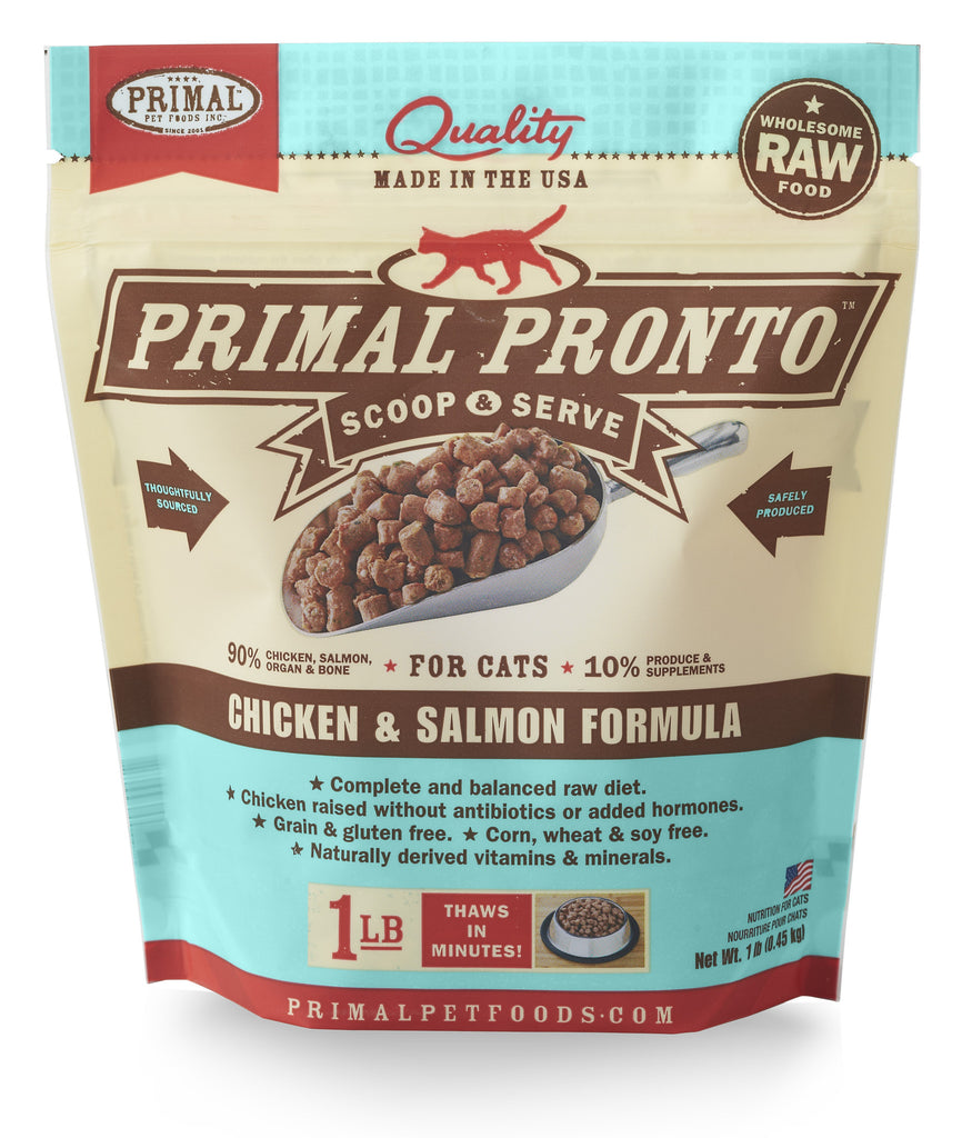 PRIMAL CAT FROZEN PRONTO CHIC 1LBS