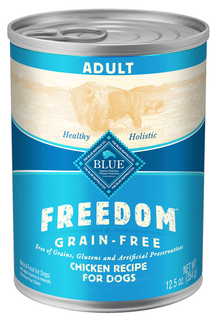 BLUE BUFFALO DOG FREEDOM CHICKEN 12.5OZ