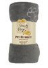 ARLEE SLEEPY DOG BLANKET GRAY 50X60