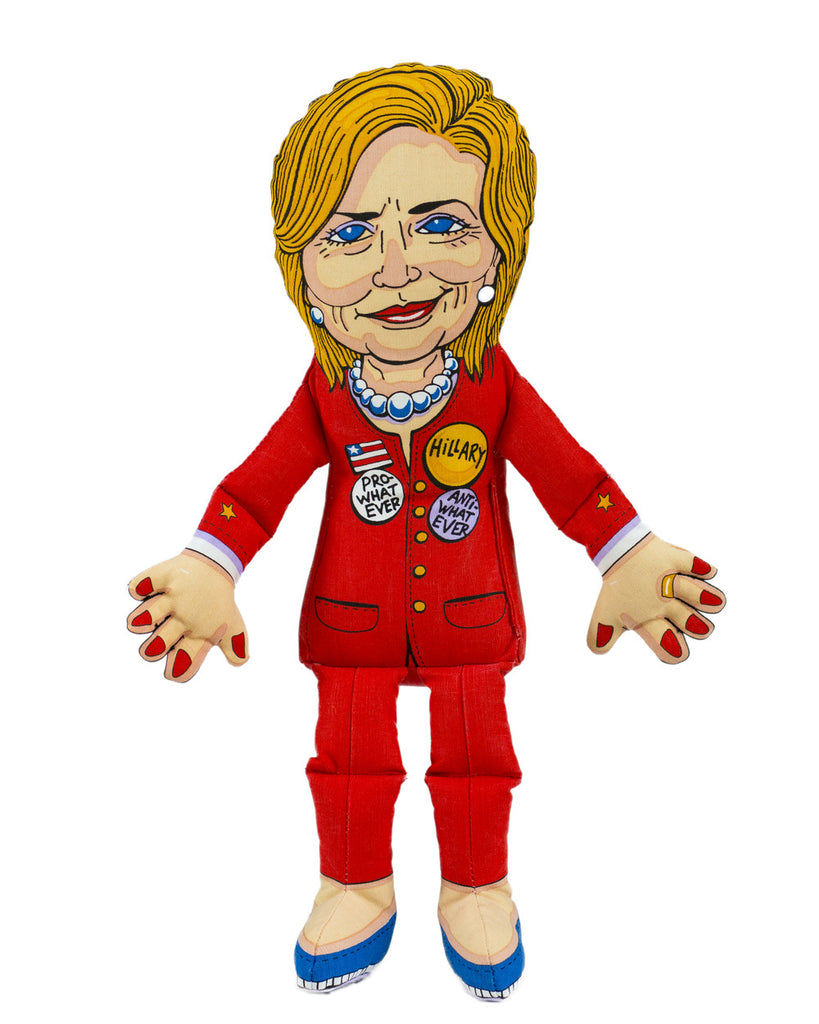 FUZZU HILLARY CLINTON DOG TOY