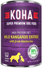 KOHA DOG L.I.D. WILD KANGAROO ENTREE WITH FRESH BLUEBERRIES 13OZ