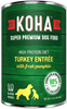 KOHA DOG L.I.D. TURKEY ENTREE WITH FRESH PUMPKIN 13OZ