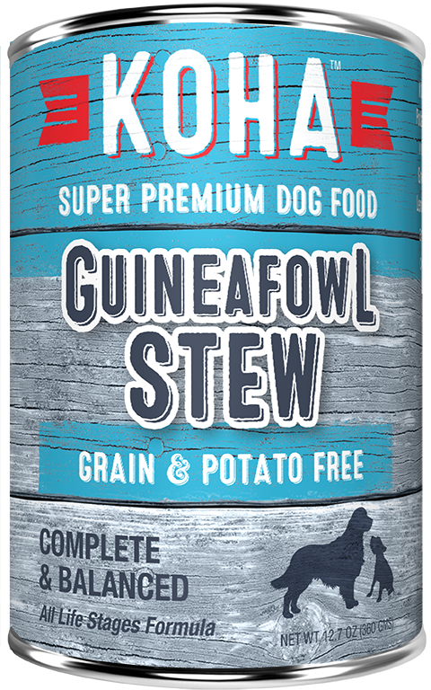 KOHA DOG GUINEAFOWL STEW 12.7OZ