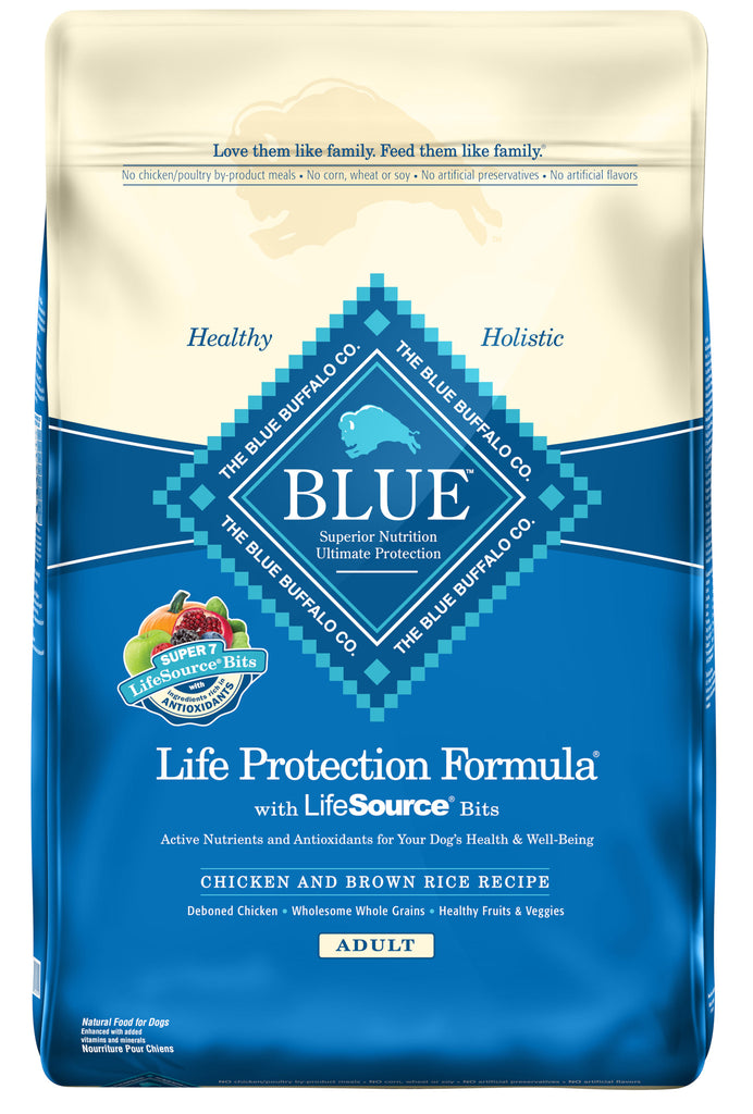 BLUE BUFFALO DOG CHICKEN & BROWN RICE 30LBS