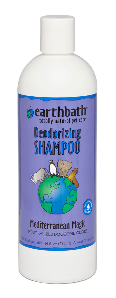 Earthbath Deodorizing Shampoo Mediterranean Magic 16oz